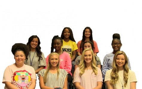 2018 Homecoming Court!