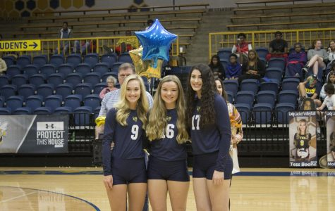 WHS Honors Volleyball Seniors