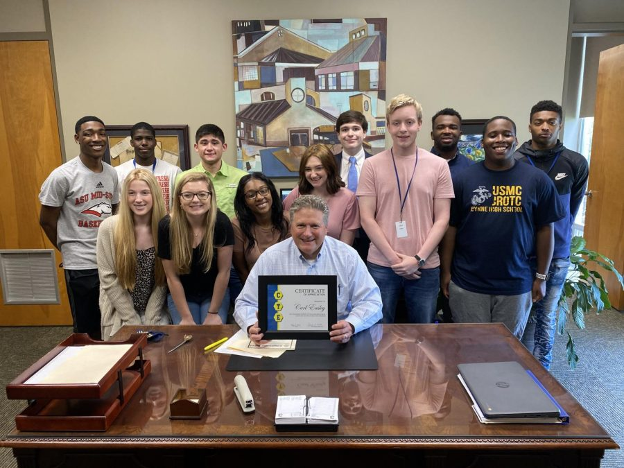 Easley graduates over 4,000 CTE students during his time in Wynne Schools